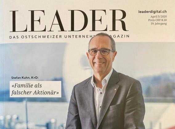 Interview im LEADER April 2020