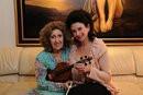 Ida Haendel and Giselle Brodsky