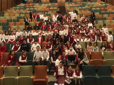 Lectures, Masterclasses, Outreach Performances and concerts in Ankara