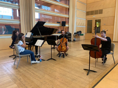 Masterclass at the ESMUC Conservatory in Barcelona