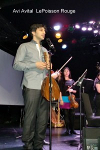 Avi Avital at (le)Poisson Rouge