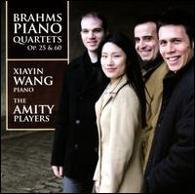 Xiayin Wang , Amity Players - Brahms Piano Quartets