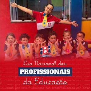 Hoje é Dia Nacional dos Profissionais da Educação.
