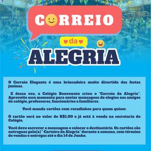 CORREIO DA ALEGRIA