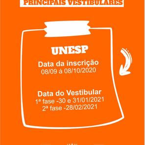 Unesp, Unicamp e USP divulgaram novos calendários após datas do Enem serem definidas