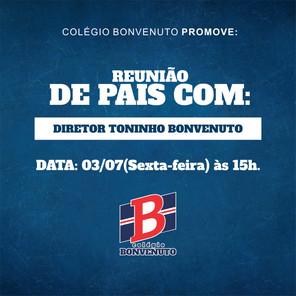 #FiqueLigado: REUNIÃO DE PAIS - ONLINE