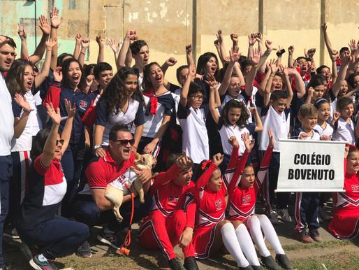 Desfile de Abertura da Olimpíada Colegial Guarulhense.