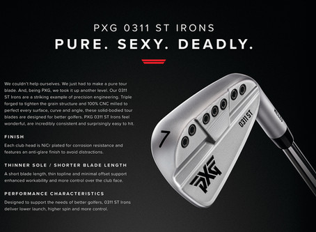 PXG IRONS 0311 ST