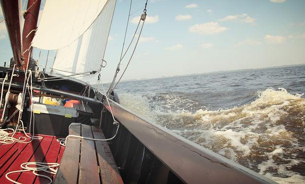 Praamzeilen Lauwersmeer