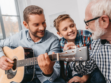 Why should people of all ages learn to play a musical instrument?