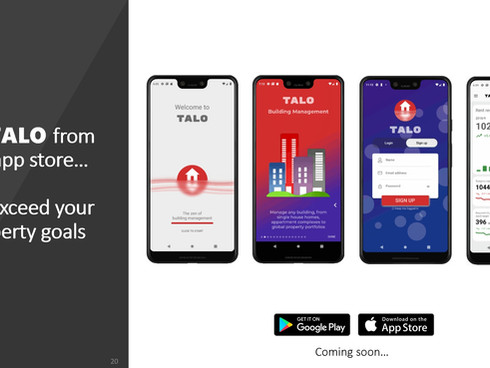 The development of the new TALO Platform continues