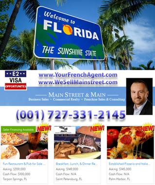 Tu viens en Floride ? Opportunités Visa E2