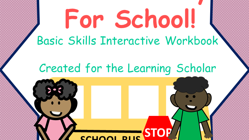 Get Me Ready for First Grade Interactive Workbook