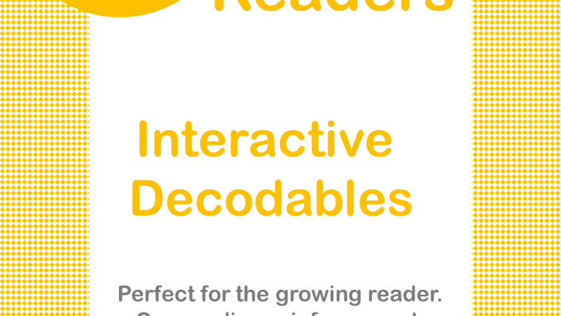 "Short ""a"" Interactive Decodable Readers"