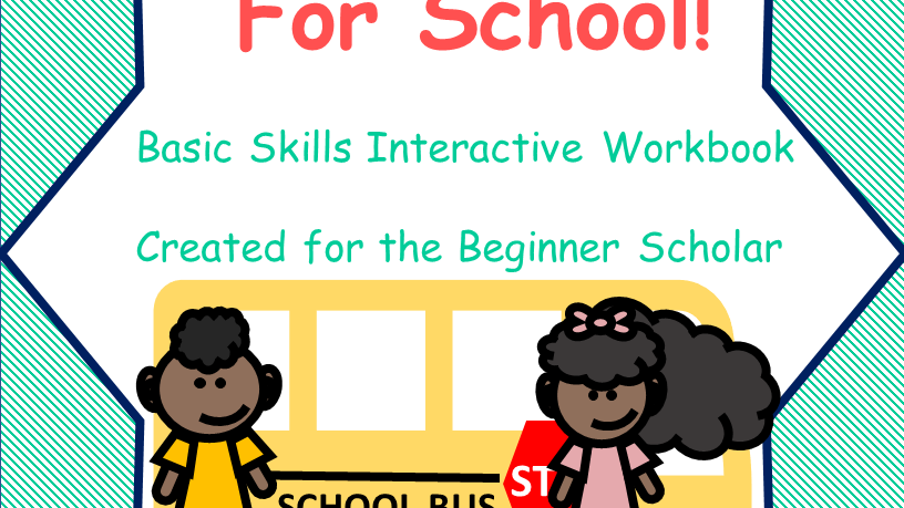 Get Me Ready for School Interactive Workbook Pre-k-Kindergarten