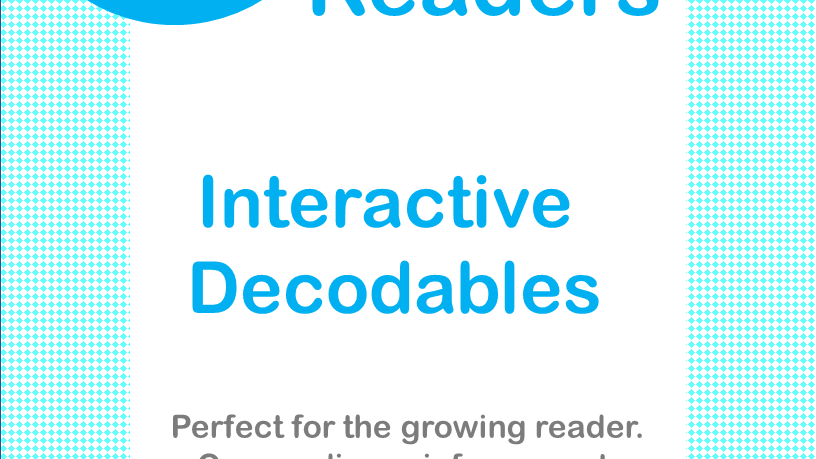 "Short ""u"" Interactive Decodable Readers"