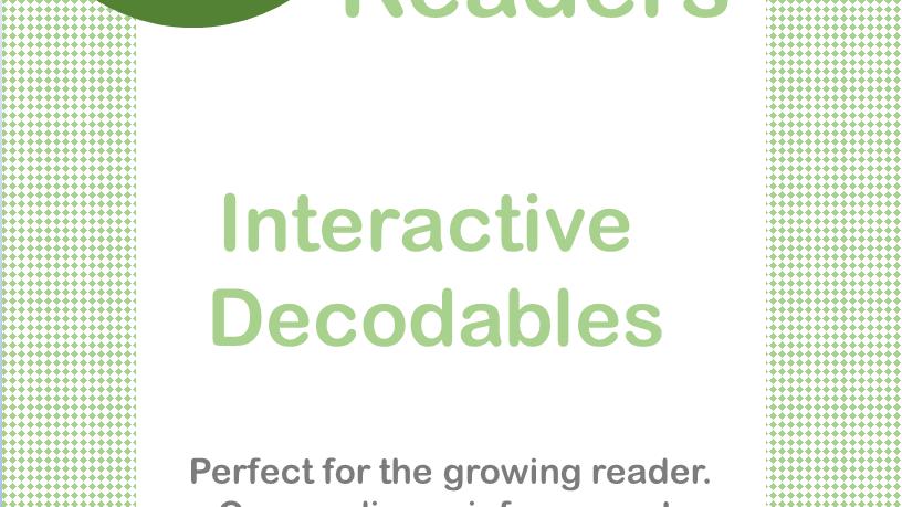 "Short ""i"" Interactive Decodable Readers"