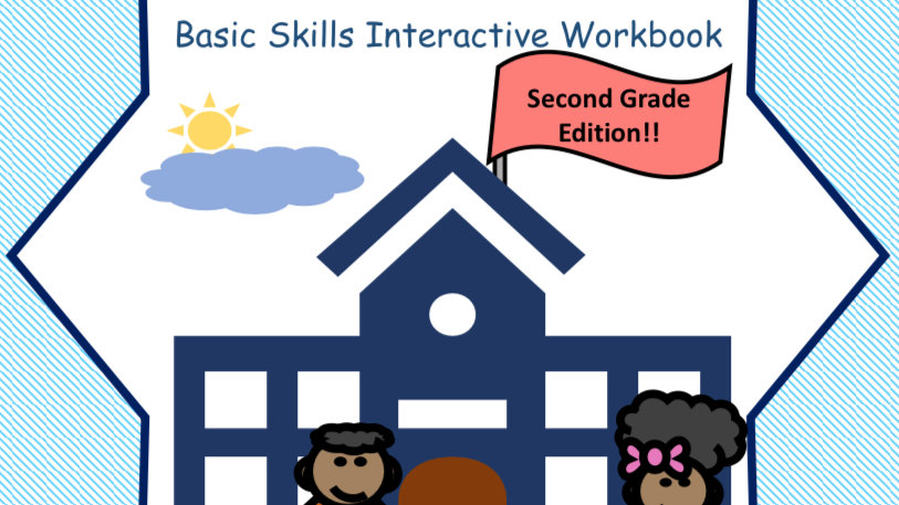 Get Me Ready For School Second Grade Interactive Workbook