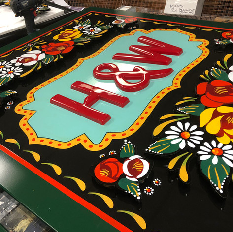 Hand Painted Signs