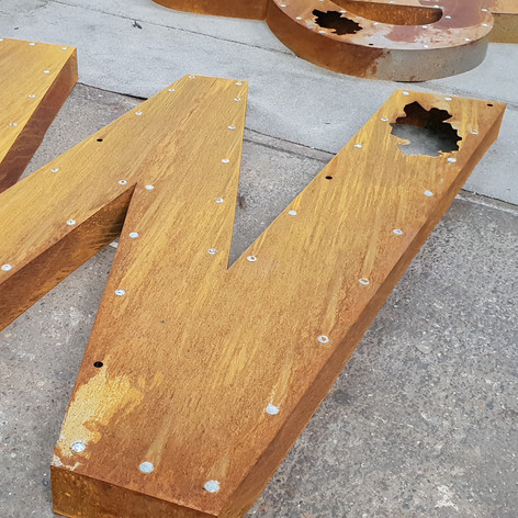 Weathered Letters