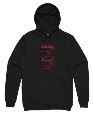 Exist. Recordings hoodie
