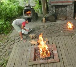 火の起こし方