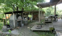 体験① 石窯で焼く田舎ピザ