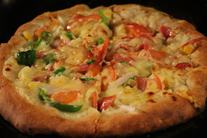 ピザ体験のピザ