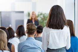 People in training workshop