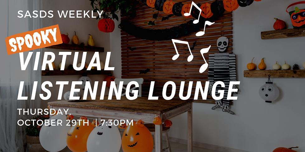 SASDS Listening Lounge: Spooky Edition