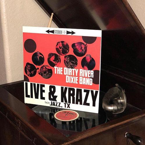Live & Krazy Vinyl
