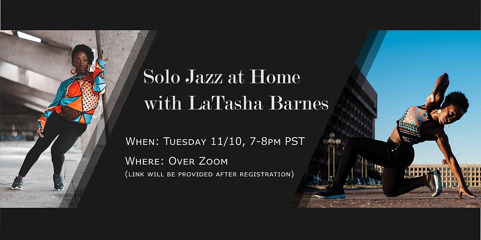 Solo Jazz at Home w/ LaTasha Barnes