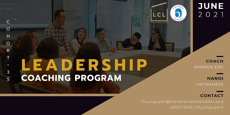 [HN] Leadership Coaching Program - Cohort 35 (Vietnamese)