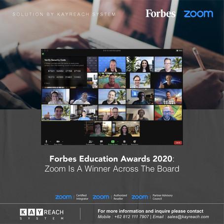Forbes Education Awards 2020: Zoom Is A Winner Across The Board