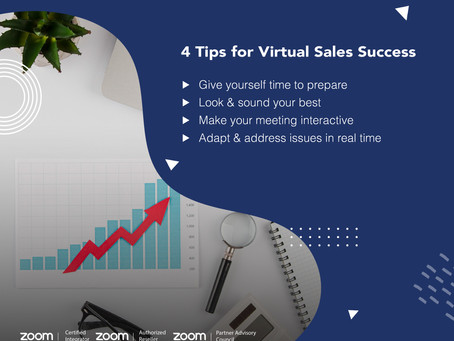 4 Tips for Virtual Sales Success