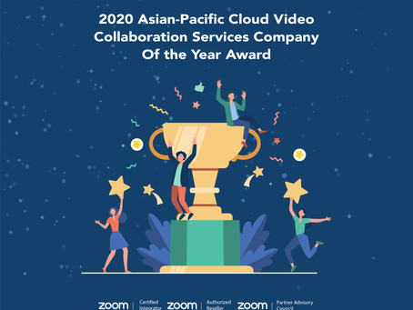 2020 Asian-Pacific Cloud Video Collaboration Services Company Of the Year Award