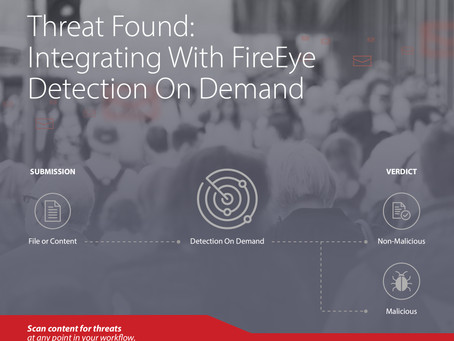 Threat Found: Integrating With FireEye Detection On Demand