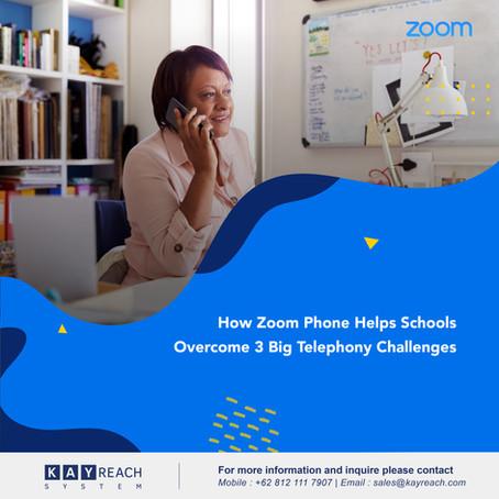 How Zoom Phone Helps Schools Overcome 3 Big Telephony Challenges