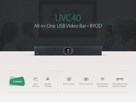UVC40 All-in-One USB Video Bar · BYOD
