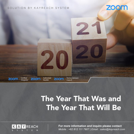 The Year in Review: Zoom Feature & Product Highlights