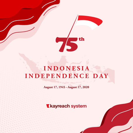 Happy Indonesia 75th Independence Day!