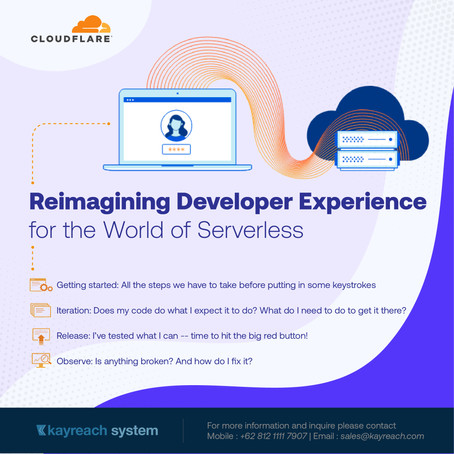 Reimagining Developer Experience for the World of Serverless