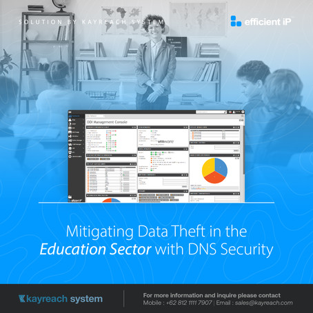 Mitigating Data Theft in the Education Sector with DNS Security
