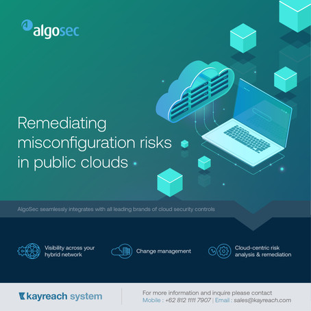 Remediating misconfiguration risks in public clouds