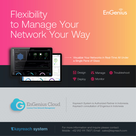 Flexibility to Manage Your Network Your Way