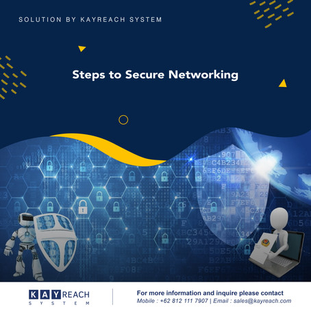Steps to Secure Networking