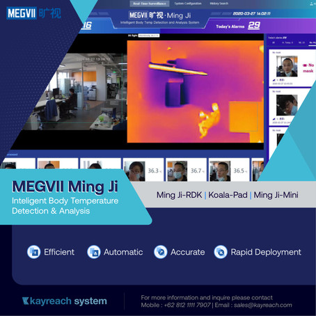 MEGVII Ming Ji - Inteligent Body Temperature Detection & Analysis