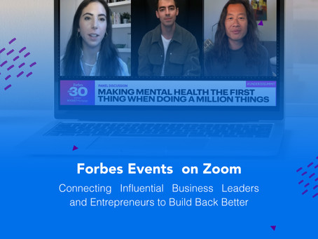 Forbes Events on Zoom