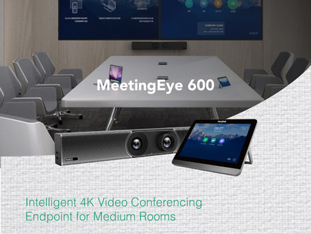 MeetingEye 600 - Intelligent 4K Video Conferencing Endpoint for Medium Rooms