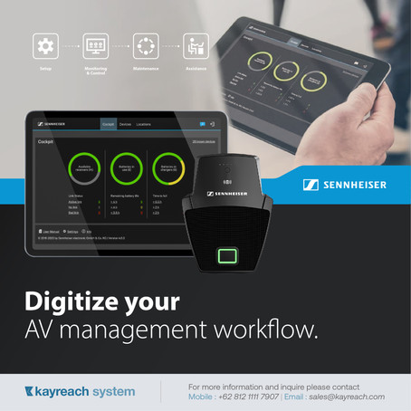 Digitize your AV management workflow